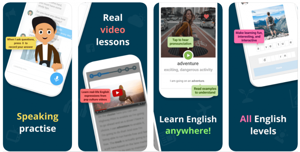Xeropan - apps for learning english