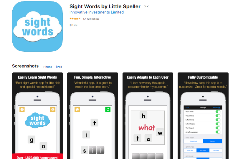 best-sight-word-apps-little-speller