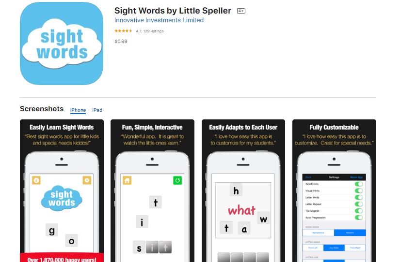 best-sight-word-apps-little-speller