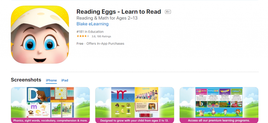 best-sight-word-apps-reading-eggs