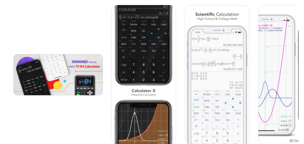graphing calculator - app iOS and android