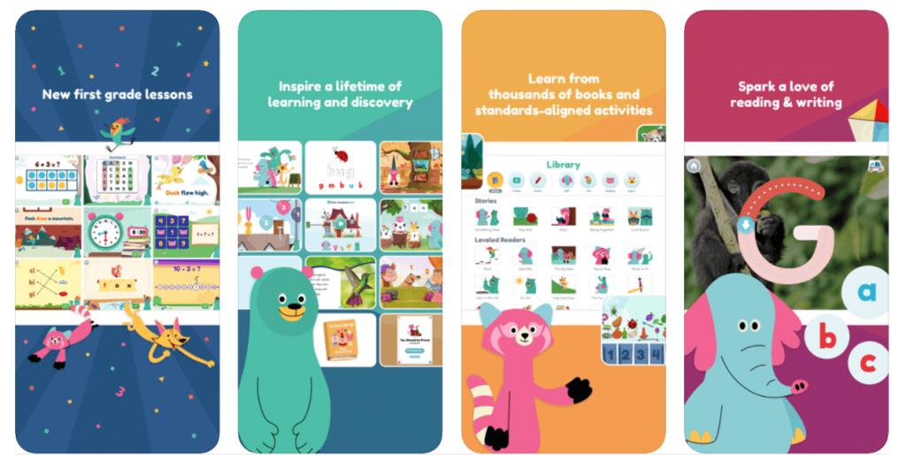 khan academy kids - top free prechool apps