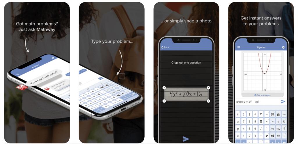 mathway - best algebra apps