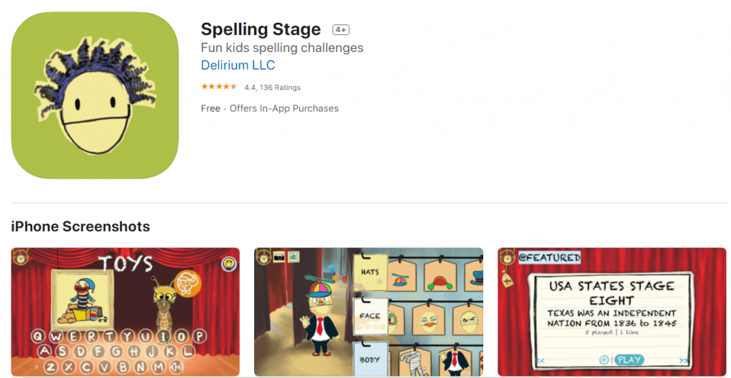 Spelling Stage