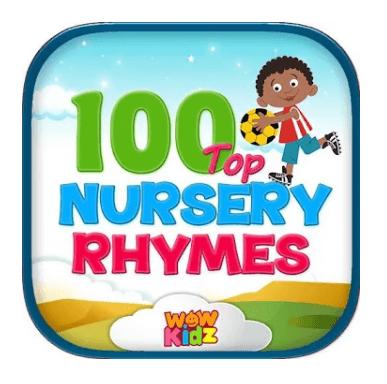 100 Top Nursery Rhymes Apps by WowKidz