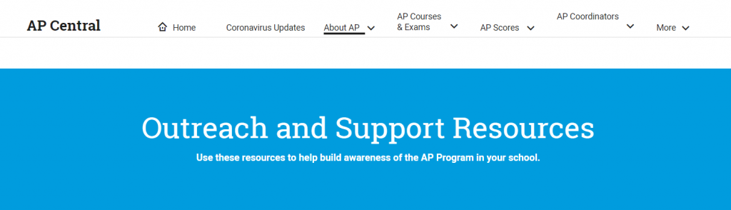 AP Share - student learning