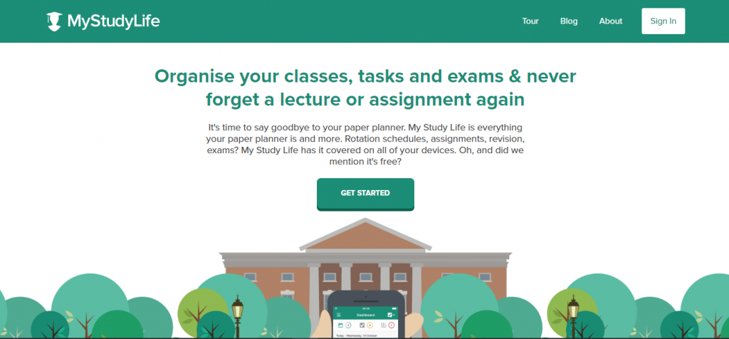 my-study-life-homepage