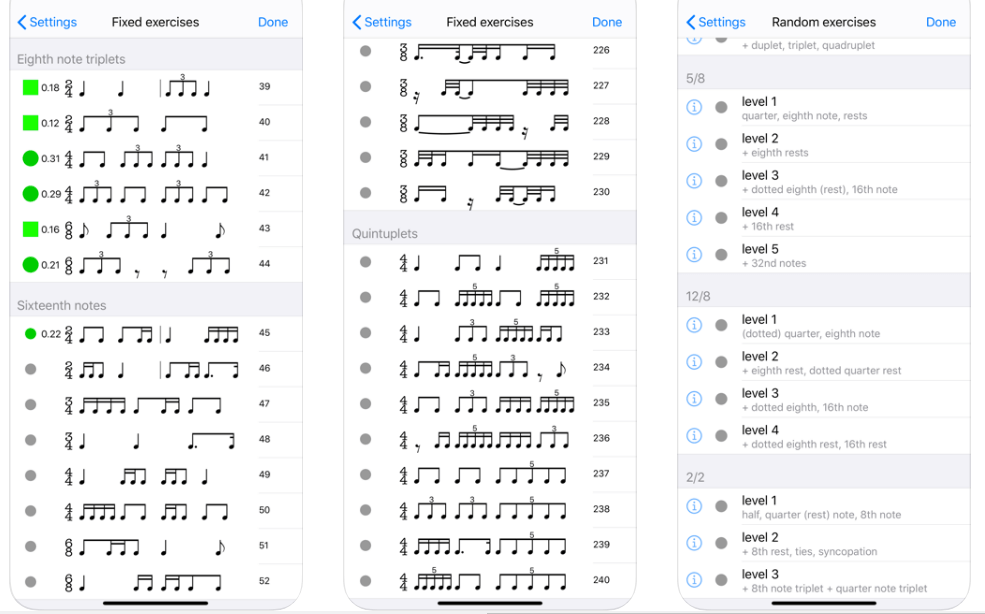 Rhythm Sight Reading Trainer 2 - music teaching apps