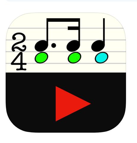 Rhythm Sight Reading Trainer - music teaching apps