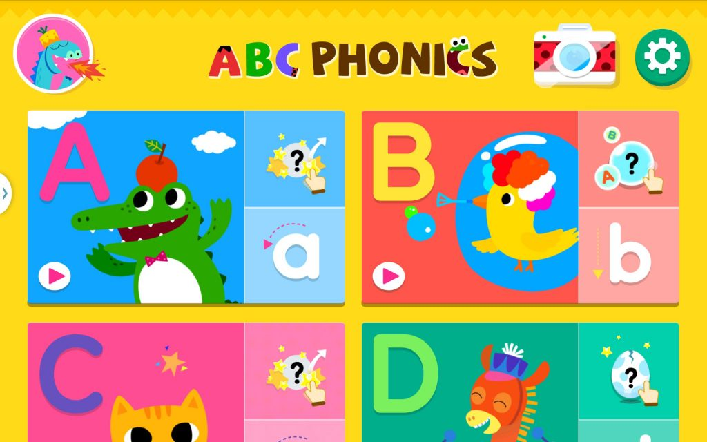 ABC Phonics is perfect for young children who are just starting to learn their basic letters