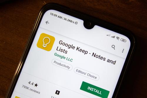 google-keep-homepage
