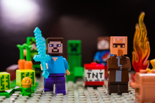 Minecraft Has Made It Into The Real World As Physical Toys