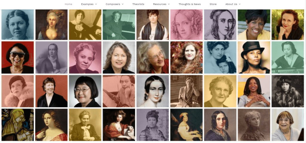 women composers - music teaching apps