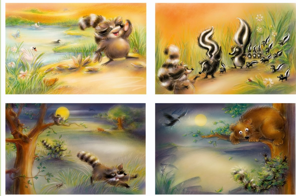 the racoon and the bee tree by susan turnbull