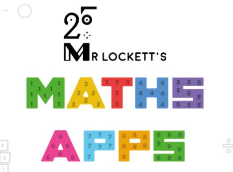 Mr Lockett's Math Apps logo