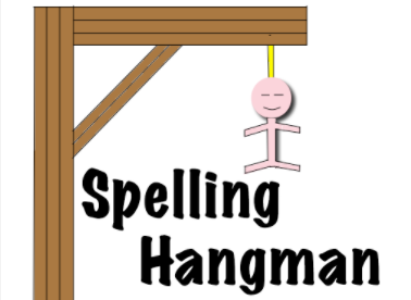 Spelling Hangman logo official