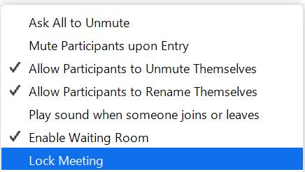 lock-meeting