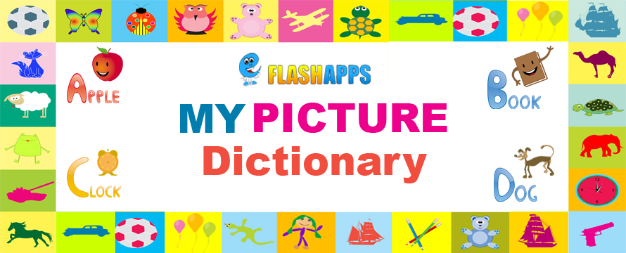 picture dictionary by eflashapps banner