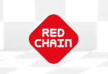 logo of red chain