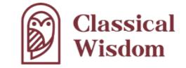 Classical Wisdom logo at ADS